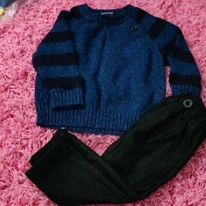Cute little sweater combo